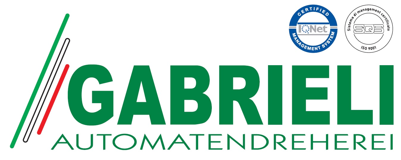 Logo Präzisionsdreherei Gabrieli srl in Vestone Brescia Italien