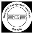 Automatendreherei Gabrieli ist ein nach ISO 9001: 2015 zertifiziertes Unternehmen